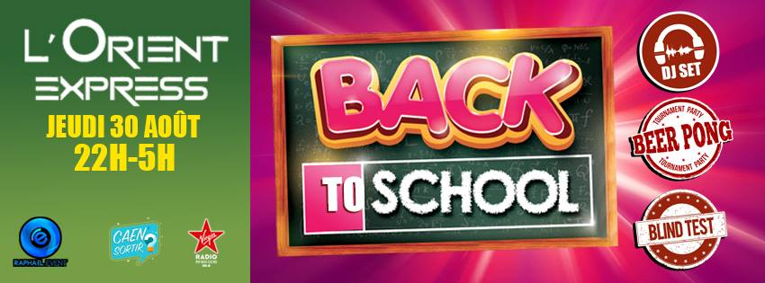 Back to School couv